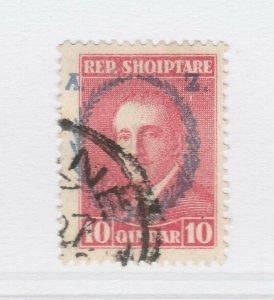 A3P18F45 Albania 1927 10q used