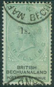 EDW1949SELL : BECHUANALAND 1888 Sc #28 VF, Used. Choice with deep color Cat $100