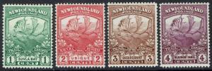 NEWFOUNDLAND 1919 CARIBOU 1C- 4C