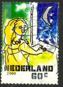 NETHERLANDS 2000 60c CHRISTMAS Issue Sc 1063j VFU