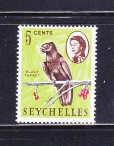 Seychelles 198 MHR Birds, Black Parrot