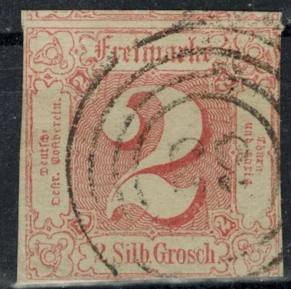 Germany - States - Thurn & Taxis - Scott 11