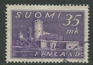 Finland - Scott 280 - Castle in Savonlinna -1949- Used - Single 35m Stamp