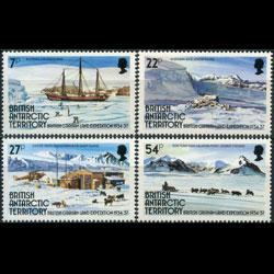 BR.ANTARCTIC TERR. 1985 - Scott# 121-4 Exped. Set of 4 NH