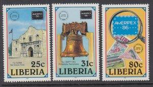 Liberia 1043-1045 MNH VF