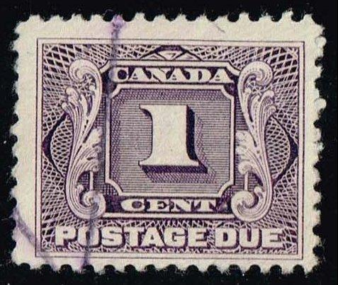 Canada #J1 Postage Due; Used (4.75)