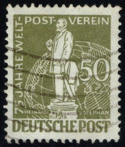 Germany #9N38 Heinrich von Stephan; Used (3Stars)