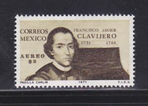 Mexico C386 Set MNH Francisco Javier Clavijero, Historian
