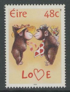 IRELAND SG1629 2004 GREETINGS ANIMALS MNH