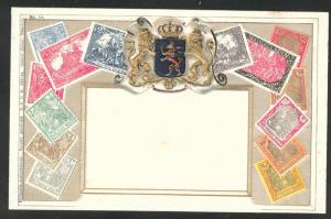 German Bavaria embossed Zieher stampcard No.12.