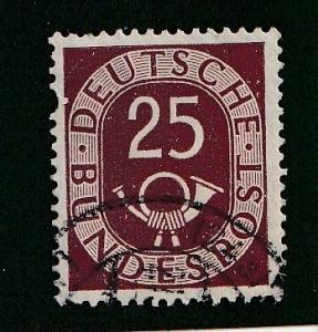 Germany  Scott#  678  Used