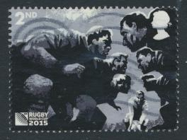 Great Britain SG 3749 Used    Rugby World Cup   SC# 3425