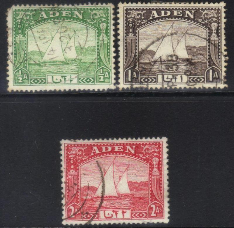 ADEN 1937 DHOWS 3 USED VALUES
