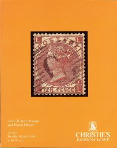 Great Britain Stamps and Postal History, Christie's Robso...