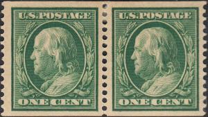 U.S. 352 VF MH PAIR (12819)