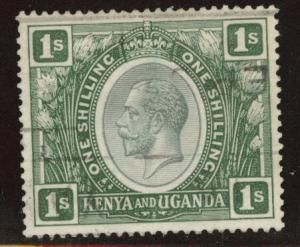 Kenya Uganda and Tanganyika KUT Scott 29 Used light cancel