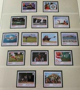 JE40) Jersey 2015 Island Games set of 14 MUH
