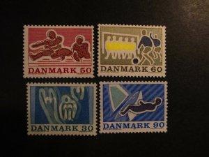 Denmark #482-85 Mint Never Hinged- (5E4) WDWPhilatelic