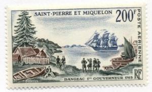 St. Pierre and Miquelon #C27 MNH CV$26.00 Governor Dagneac Ship [99948]