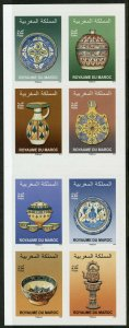 Morocco Stamps 2019 MNH Pottery Art Artefacts Cultures 8v S/A Booklet