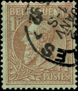 Belgium Scott #54 Used