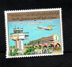 1983 - Libya - Libye -Plane - Avion- Airport - Aéroport- MNH**