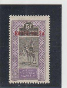 Burkina Faso  Scott#  28  MH  (1900 Overprint)