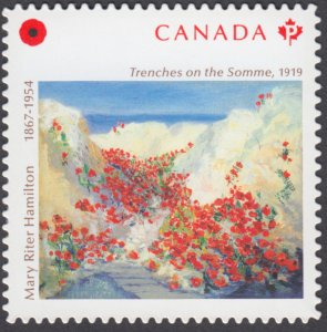 Canada - *NEW* Remembrance Day 2020, Die Cut Stamp From Quarterly Pack - MNH