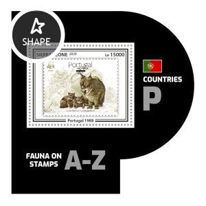 SIERRA LEONE - 2020 - Fauna on Stamps - Perf Souv Sheet #4 - Mint Never Hinged