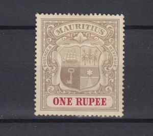 Mauritius 1902 1 Rupee SG153 MH JK5601