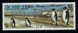 FSAT TAAF Penguins Birds Landing Strip at Adelie Land 1992 MNH SG#305