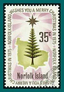 Norfolk Island 1975 Christmas, 35c used #189,SG167