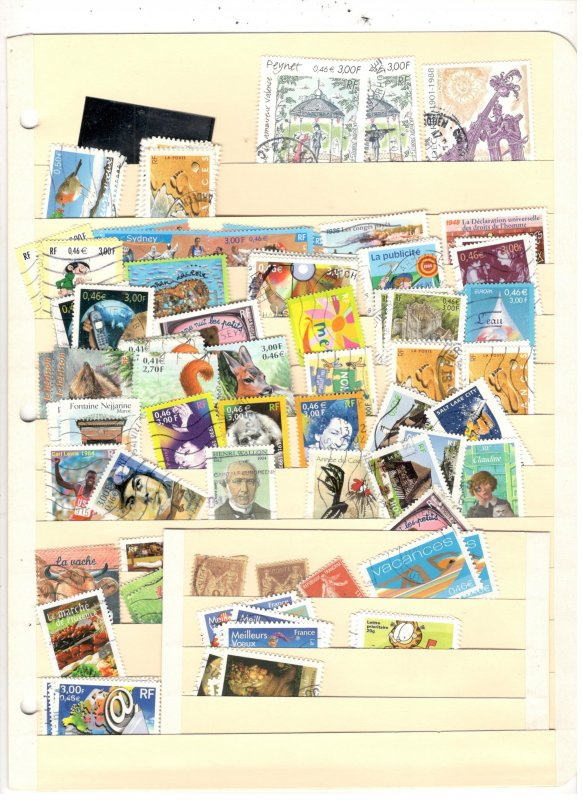 FRANCE COLLECTION ON STOCK SHEET