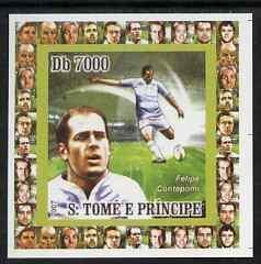 Sao Tome & Principe RUGBY WORLD CUP 2007 Deluxe s/s Mint (NH) #1