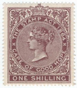 (I.B) Cape of Good Hope Revenue : Duty Stamp 1/-