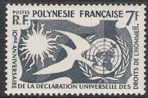 French Polynesia #191 Human Rights Issue MH