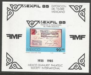 MEXICO 1385 MNH EXFIL 85 SS [D1]