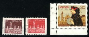 Can #952-54   -2  used VF 1982 PD