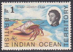 British Indian Ocean Territory Sc #28 MNH; Mi #25