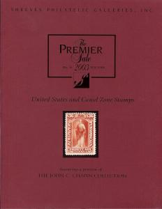 The Premier Sale - May 2003: United States and Canal Zone...
