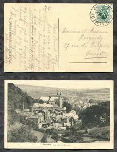 2812 - BELGIUM 1930 CDS Postmark on Domestic Picture Postcard