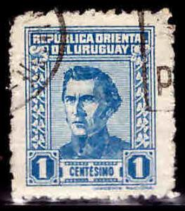 Uruguay Scott 506 used stamp