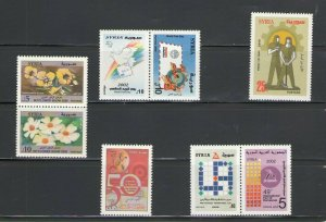 SYRIA: SY-01  / **GOOD LOT OF MODERN ISSUES**/ Complete Sets / MNH