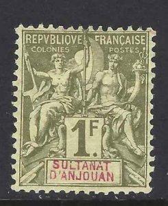 Anjouan 1892 SC 19 Mint