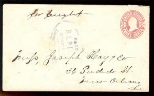 PACKET/ RAPIDES/ JOHN HENN Master ca 1863