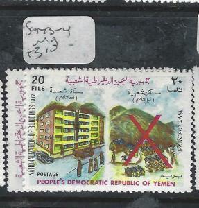 PEOPLE'S DEM REP YEMEN (P1304B) SG   143-4   MOG