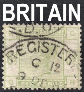 Great Britain Scott 105  F+  used.