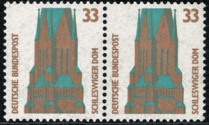 GERMANY 1987-96 33 pf TOURIST SIGHTS PAIRS STAMP(S)SG2204 MINT (NH) SUPERB