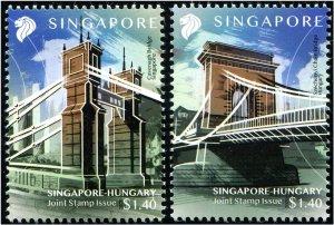 2020 Singapore - Bridge (2) (Scott NA) MNH