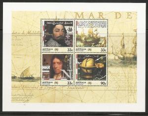 Australia 952a 1985 Explorers s.s. MNH